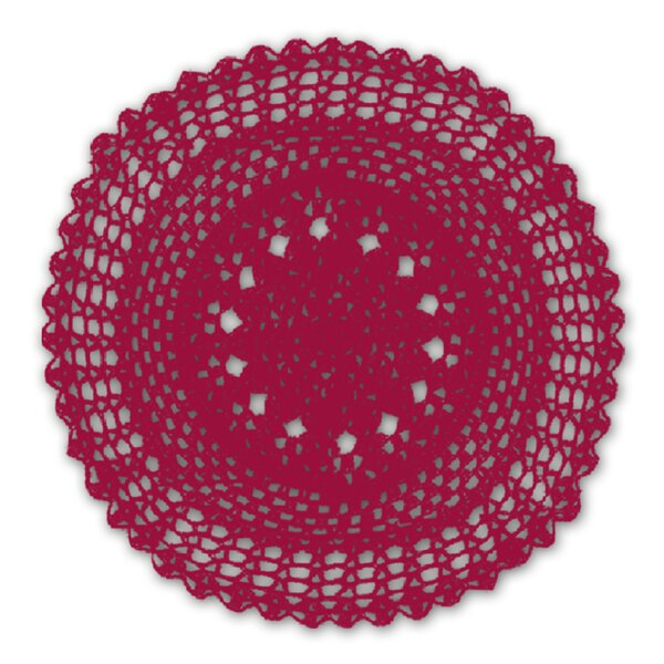 Medallion Crochet Placemat (Set of 4) by Homewear Linens