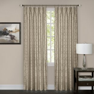 Ivory andCream Pinch Pleated Curtains & Drapes You'll Love in 2021 | Wayfair