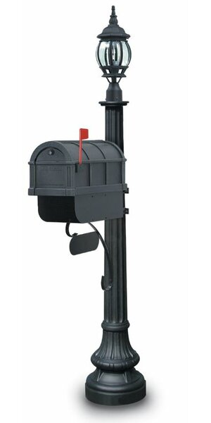 Alderbury Mailbox with Post Included by Postal Products Unlimited, Inc.