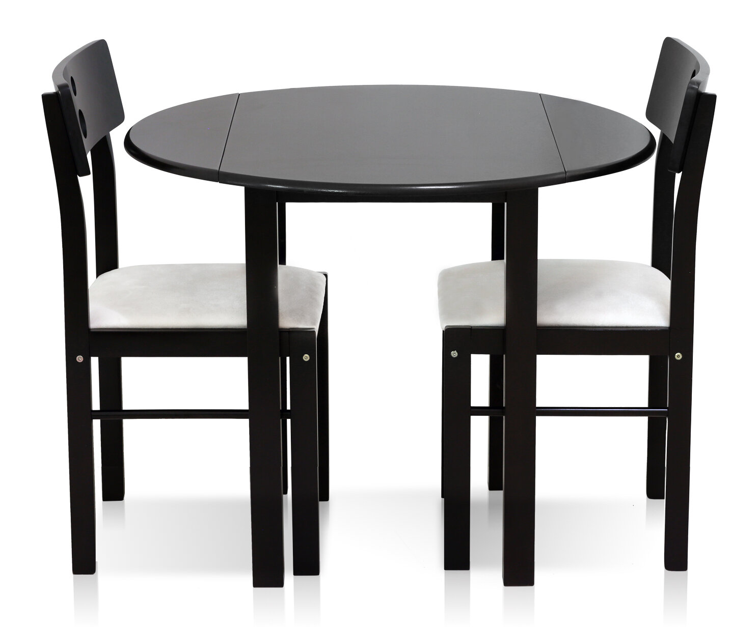 Furinno Cos Drop Leaf Solid Wood 3 Piece Dining Set U0026 Reviews | Wayfair