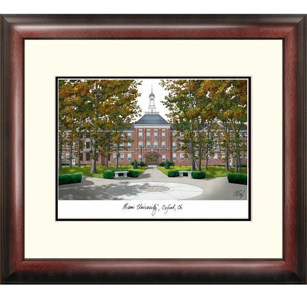 NCAA Alumnus Lithograph Framed Photographic Print by Campus Images