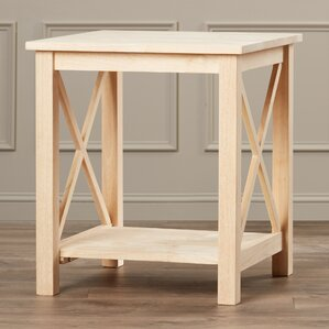 Towner End Table by August Grove