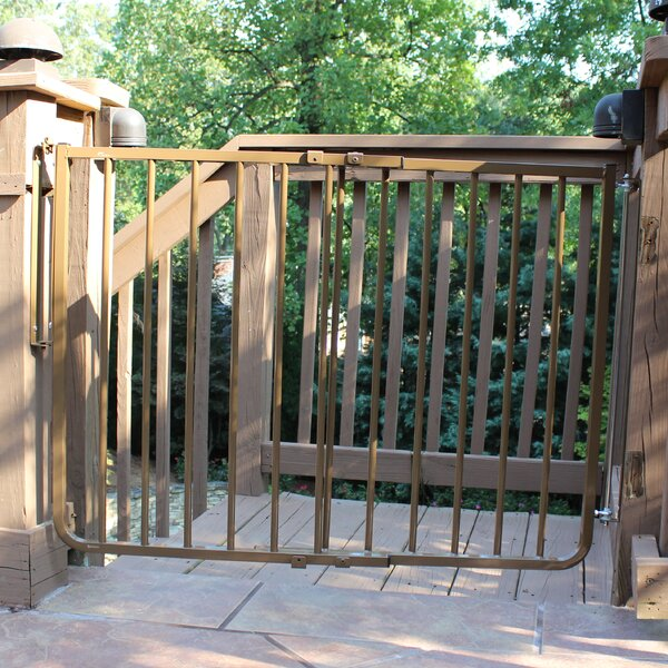 Stairway Special Outdoor Gate By Cardinal Gates.