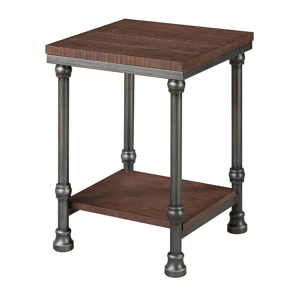 Wallaceton End Table by Charlton Home