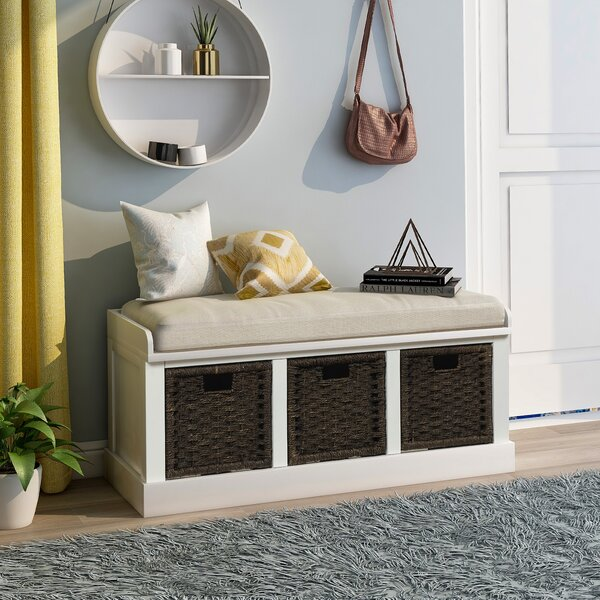 Langely Drawer Storage Bench