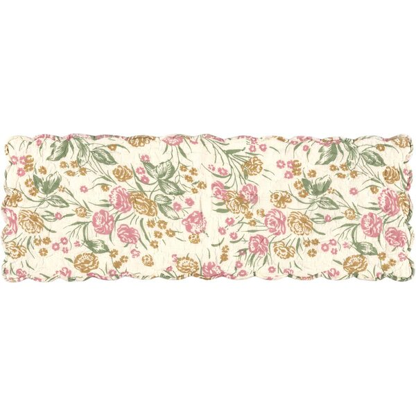 Evangelina Floral Quilted Runner by August Grove