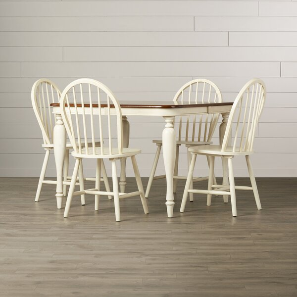 Clemmie 5 Piece Dining Set by August Grove