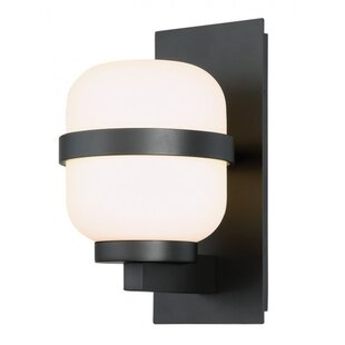 Look for Wilner 1 Light LED Outdoor Sconce By Breakwater Bay