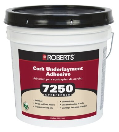 Roberts 4-Gal. Pail Of Pro Grade Cork Underlayment Adhesive by QEP