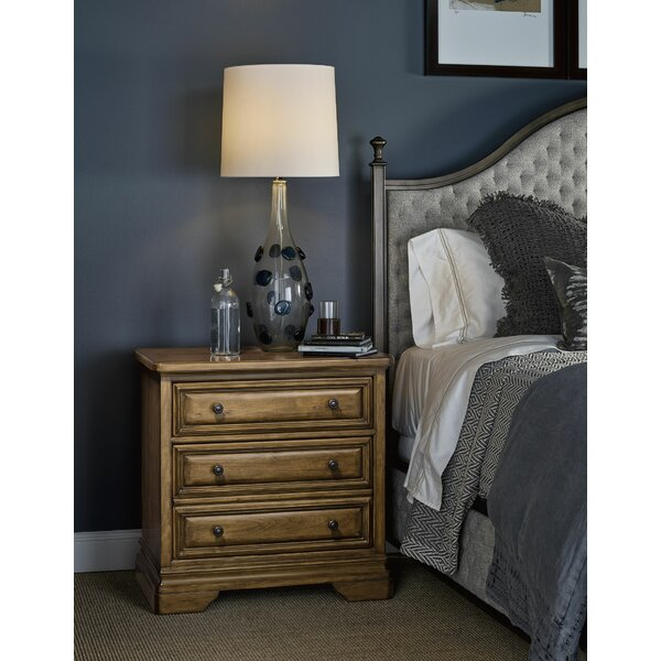 Mullikin 3 Drawer Nightstand by Darby Home Co