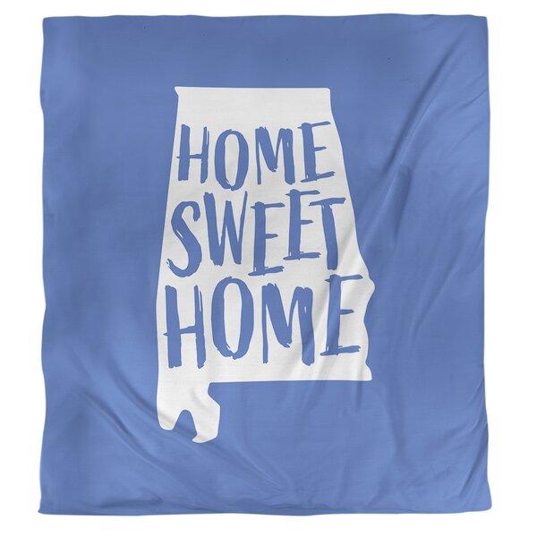 Home Sweet Alabama Duvet Cover