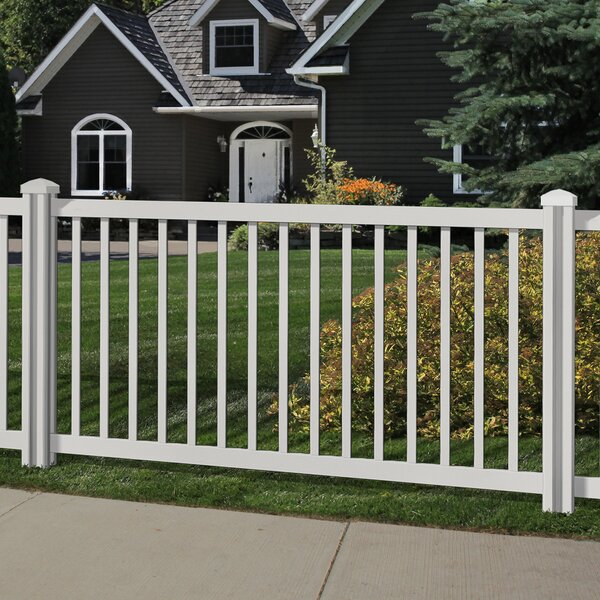 4 ft. H x 7 ft. W Traditional Yard and Pool Fence Panel by Wam Bam Fence CO.