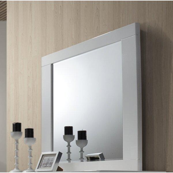 Gideon Square Dresser Mirror by Orren Ellis