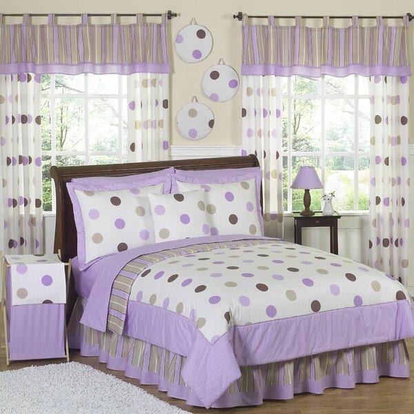 Mod Dots Purple Comforter Set by Sweet Jojo Designs