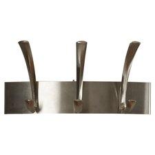 Metal 3 Hook Coat Rack (Set of 6) by Charlton Home