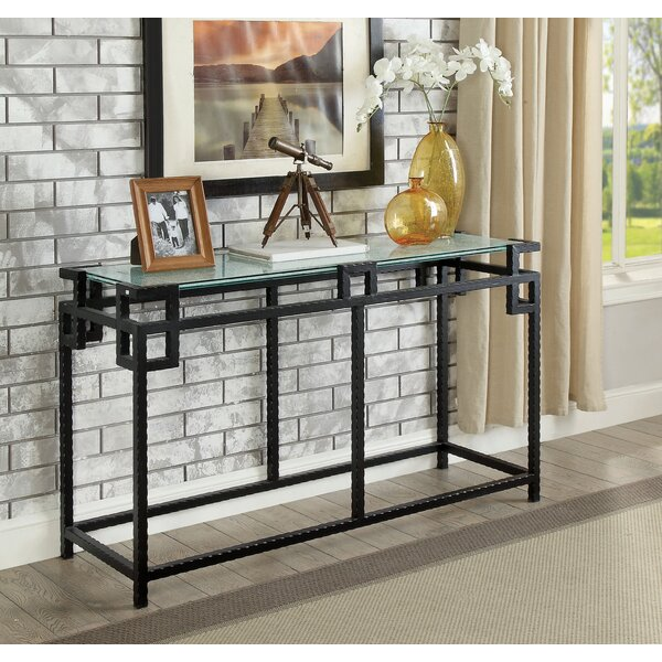 Bloomsbury Market Glass Console Tables
