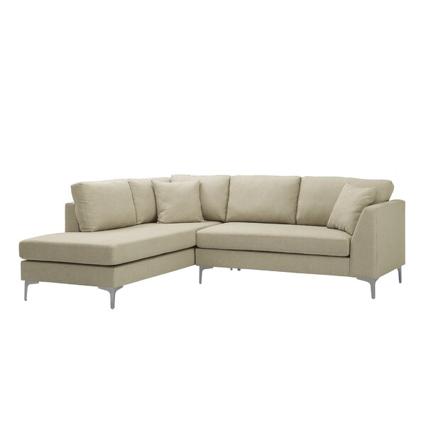 Get Valuable Laurine Reversible Modular Sectional by Latitude Run by Latitude Run