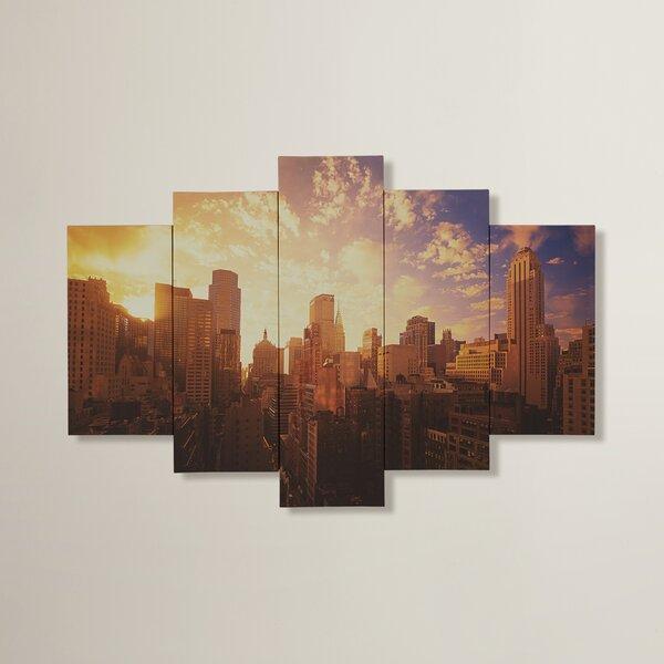 Newberry 5 Piece Photographic Print on Canvas Set by Brayden Studio