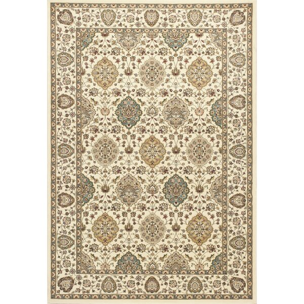 Arietta Ivory Area Rug by Charlton Home