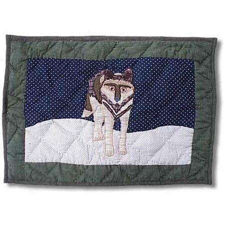 Wolf Placemat (Set of 4) by Patch Magic