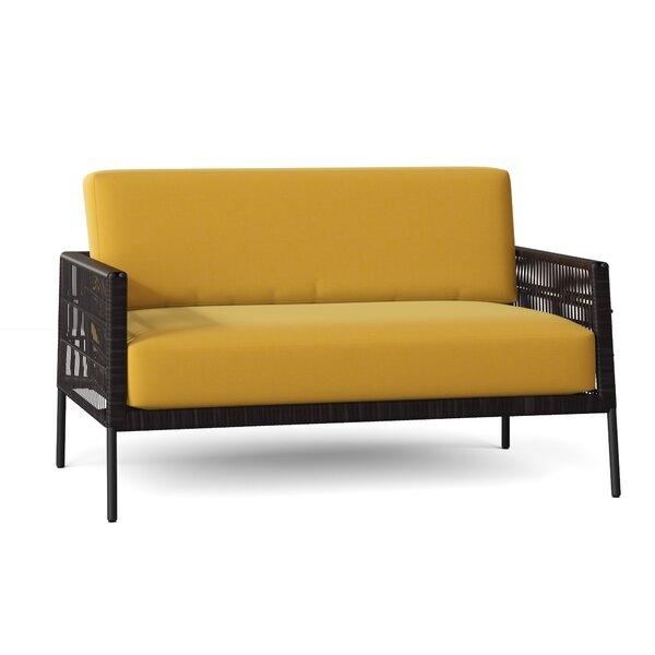 Maiz Loveseat with Cushions by Woodard
