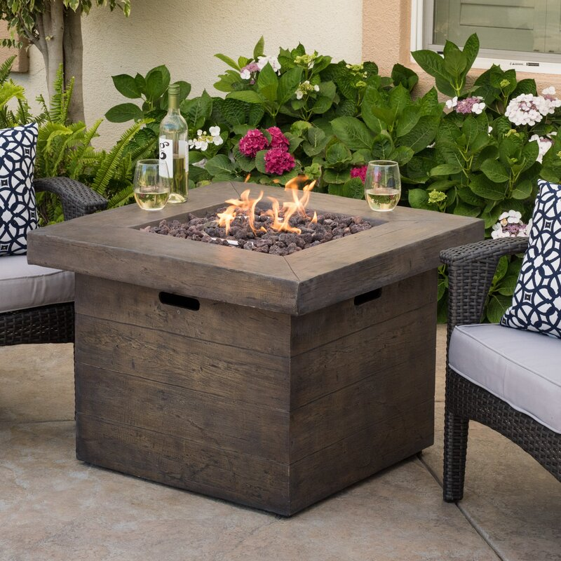 Cali Stone Propane Fire Pit Table