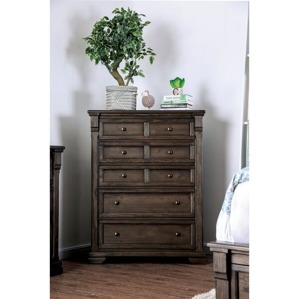 Trever 5 Drawer Chest by Darby Home Co