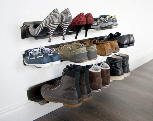 horizontal 1tier 5 pair shoe rack