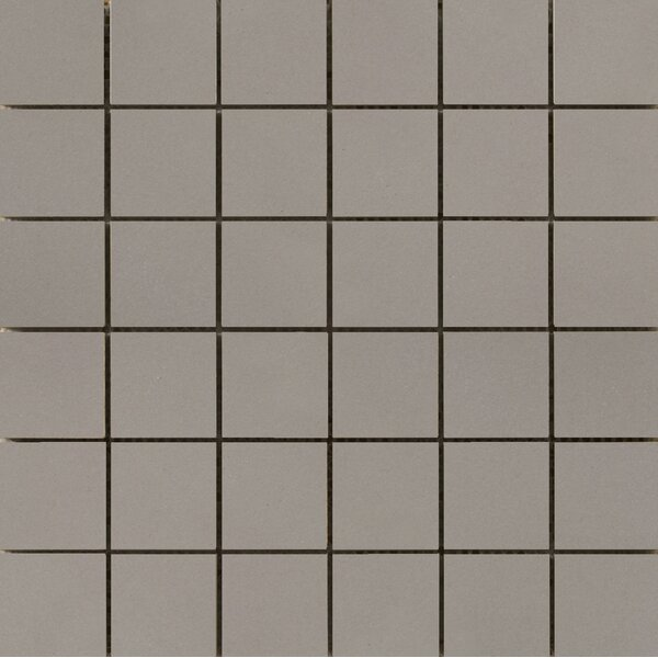 Perspective Pure 12 x 12 Porcelain Mosaic Tile in Gray by Emser Tile