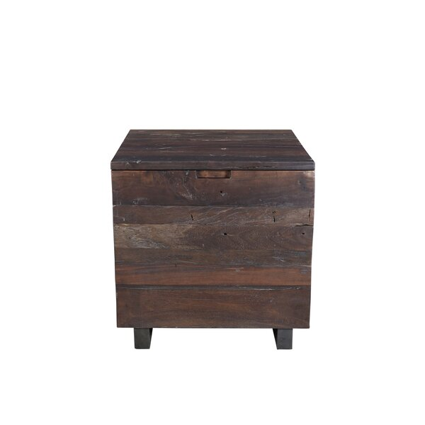 Sherika End Table with Storage by Union Rustic