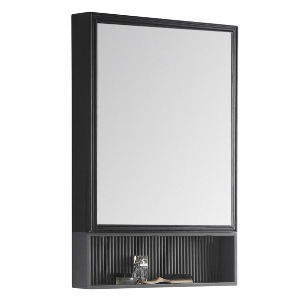 Strobel 21x 33 Surface Mount Framed Medicine Cabinet with 3 Adjustable Shelves