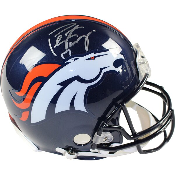 Decorative Peyton Manning Signed Authentic Helmet by Steiner Sports