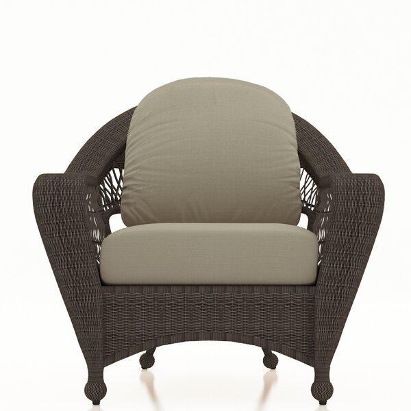 Fernly Patio Chair with Sunbrella Cushions by Red Barrel Studio