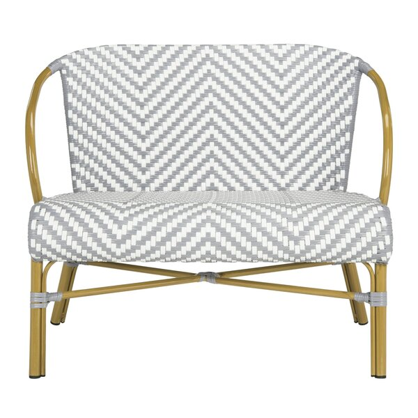 Blewitt Herringbone Garden Bench by Bungalow Rose