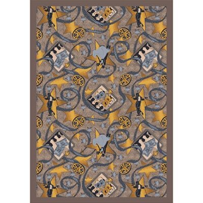 Taupe Area Rug by The Conestoga Trading Co.