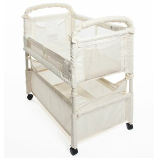 Online Reviews Clear-Vue Bedside Crib with Mattress ByArm's Reach