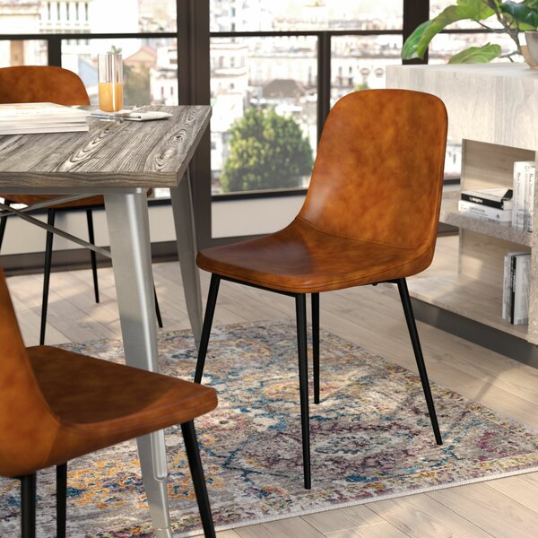 Blake Upholstered Dining Chair (Set of 2) by Hashtag Home