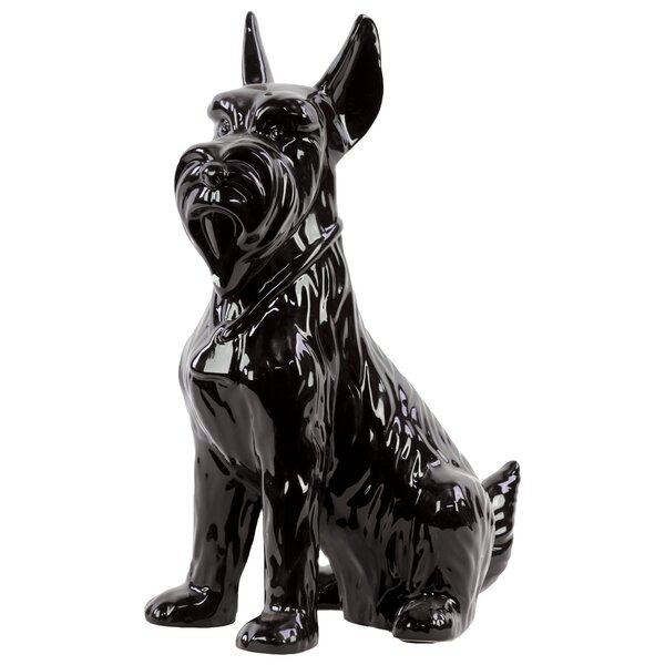 Zetta Scottish Terrier Dog Figurine by Charlton Home
