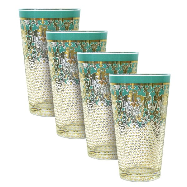 Tumbler 16 oz. Every Day Glass (Set of 4) by Patina Vie