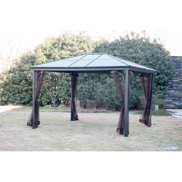 Replacement Mosquito Netting for Steel Roof Gazebo by Sunjoy