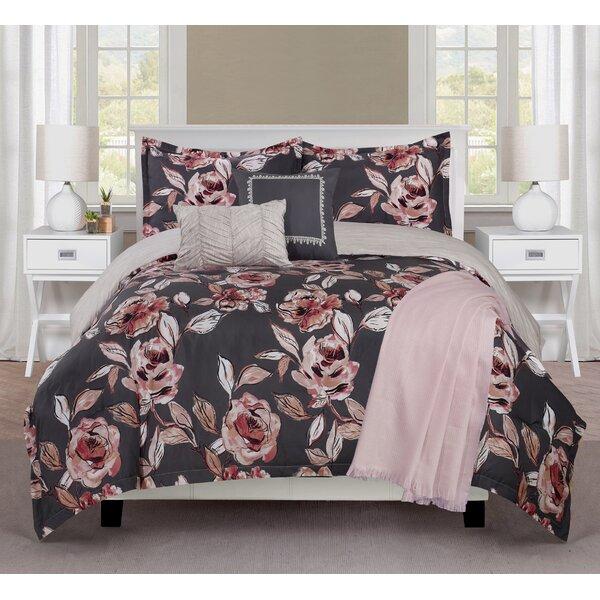 6 Piece Reversible Comforter Set by Ellen Tracy
