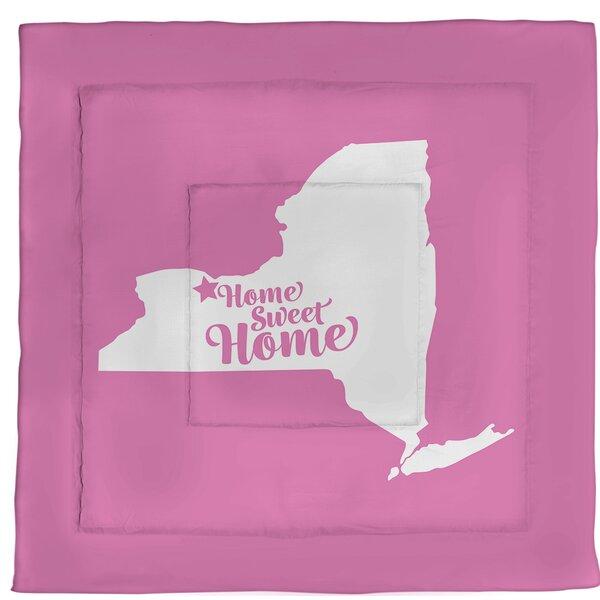 Rochester Home Sweet Single Reversible Comforter