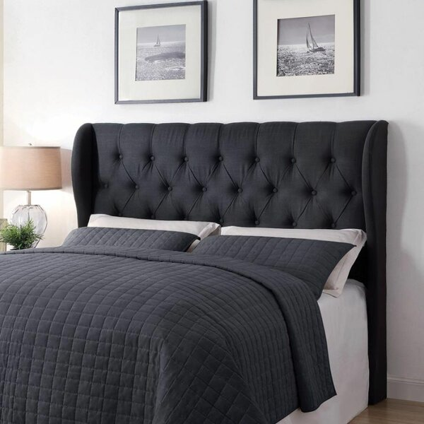 Rochford Upholstered Wingback Headboard by Canora Grey