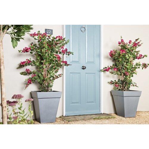 Baker Fiberglass Planter Box Sol 72 Outdoor Size: Small, Col