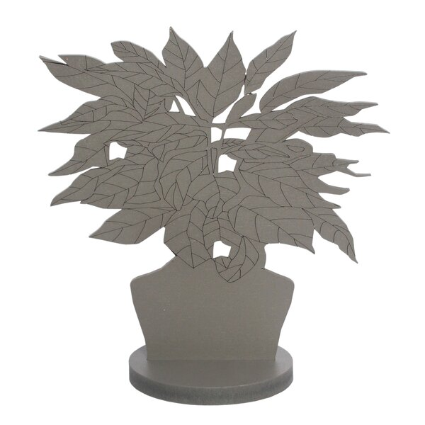 Bernal Ficus Silhouette Sculpture by Bay Isle Home