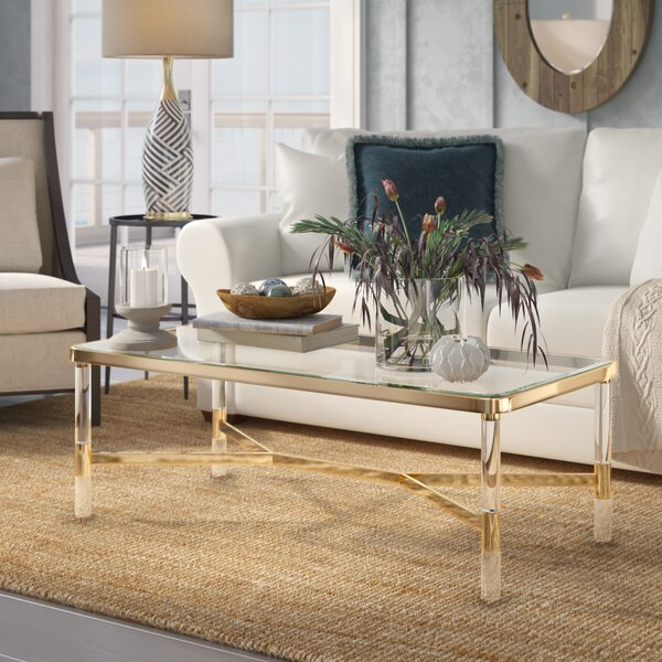 Hingham Coffee Table by Everly Quinn
