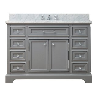 integrated with bathroom single pacific grey sink inch vanities finish vanity