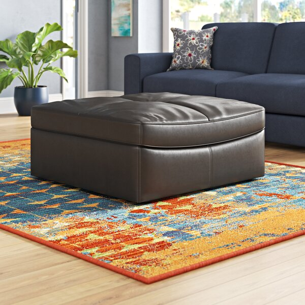 Ostby Contemporary Ottoman by Ebern Designs