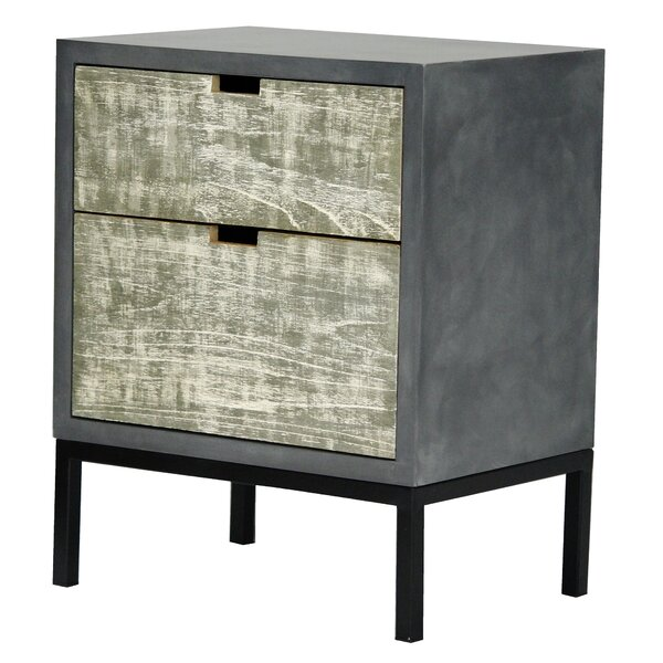 Geneva 2 Drawer Accent chest by Williston Forge