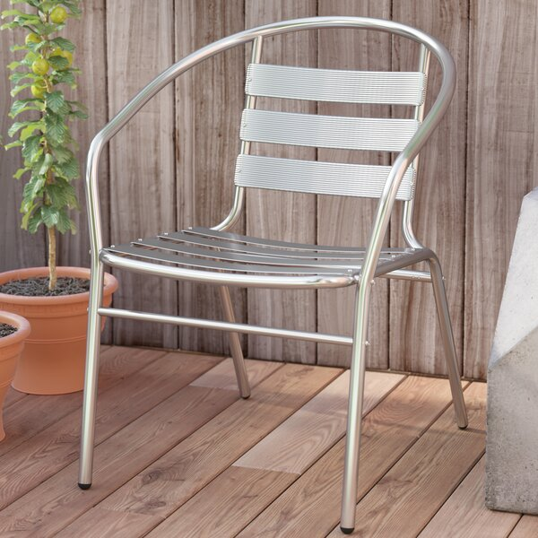 Gillett Stacking Patio Dining Chair by Zipcode Design